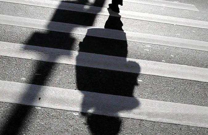 наезд на пешехода на переходе